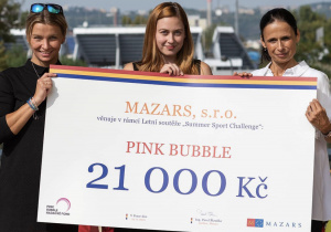 Mazars - Summer Sport Challenge for Pink  Bubble